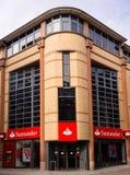 De Bank van Santander Stock Afbeelding