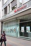 De Bank van Santander Stock Afbeeldingen