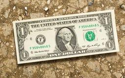 De bankbiljetten van de dollar royalty-vrije stock afbeelding