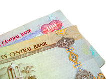 De Bankbiljetten van de V.A.E Royalty-vrije Stock Afbeeldingen