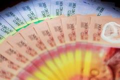De bankbiljetten van Kaapverdië stock afbeeldingen