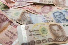 De bankbiljetten van Thailand Royalty-vrije Stock Fotografie