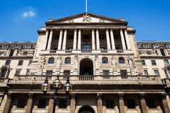 De bankbouw, Londen Stock Afbeeldingen