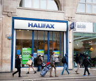 De banktak van Halifax in Londen Stock Afbeeldingen
