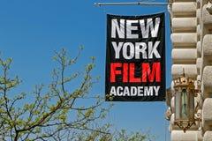 De banner van de de Filmacademie van New York Royalty-vrije Stock Afbeeldingen