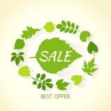 De banner van de de lenteverkoop Royalty-vrije Stock Foto