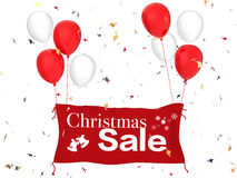 De banner van de Kerstmisverkoop Stock Fotografie