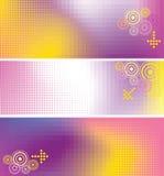 De banner van de kleur vector illustratie