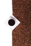 De banner van de koffie Stock Foto