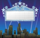 De banner van de markttent royalty-vrije illustratie
