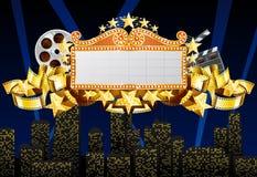 De banner van de markttent stock illustratie