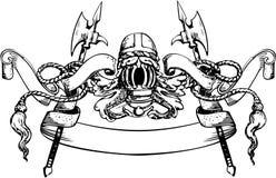 De Banner van de ridder vector illustratie