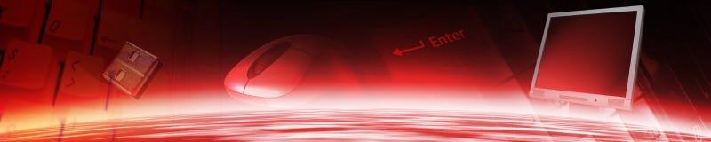 De banner van de technologie. vector illustratie