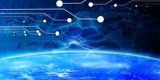 De banner van de technologie Royalty-vrije Stock Afbeelding
