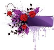 De banner van de valentijnskaart Stock Afbeelding
