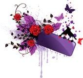 De banner van de valentijnskaart Royalty-vrije Stock Afbeeldingen