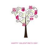 De banner van de valentijnskaartendag Stock Fotografie
