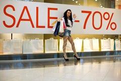 De banner van de VERKOOP Royalty-vrije Stock Foto