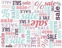 De banner van de verkoop Stock Foto's