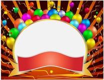 De banner van de viering Stock Fotografie