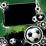 De banner van de voetbal Stock Fotografie