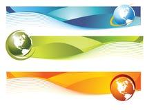 De banner van de wereld royalty-vrije illustratie