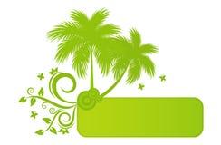 De banner van de zomer Stock Fotografie