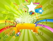 De Banner van de zomer Royalty-vrije Stock Foto's