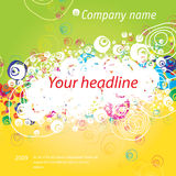 De banner van Grunge Royalty-vrije Stock Foto