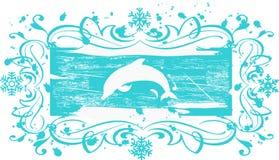 De banner van Grunge - vector vector illustratie