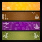 Halloween-banner Royalty-vrije Stock Afbeelding