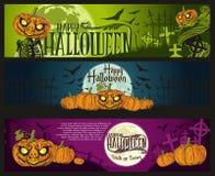 De banner van Halloween Royalty-vrije Stock Foto