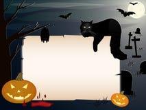 De banner van Halloween   Stock Foto