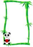 De banner van het bamboe Stock Afbeelding