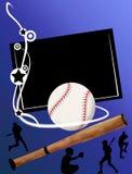 De banner van het honkbal Royalty-vrije Stock Afbeeldingen