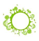 De banner van het milieu vector illustratie