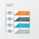 De banner van het presentatieontwerp Royalty-vrije Stock Afbeeldingen