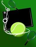 De banner van het tennis Royalty-vrije Stock Foto's