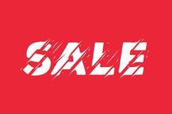 De banner van het verkoopteken Moderne Gestileerde Vectorillustratie royalty-vrije stock foto's