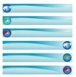 De Banner van het Web van de wereld   stock illustratie