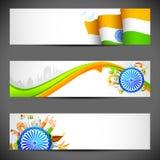 De Banner van India royalty-vrije illustratie