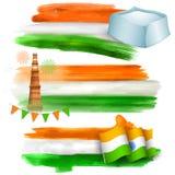 De banner van India voor verkoop en bevordering Royalty-vrije Stock Fotografie