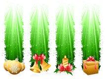 De banner van Kerstmis stock illustratie