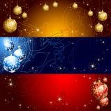 De banner van Kerstmis