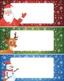 De banner van Kerstmis. Royalty-vrije Stock Foto
