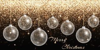 De Banner van Kerstmis Stock Fotografie