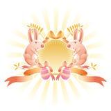 De banner van Pasen Stock Afbeeldingen