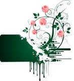 De banner van rozen vector illustratie