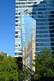 De Banner van Salt Lake City Royalty-vrije Stock Afbeelding