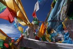 De banner van Tibet Stock Fotografie